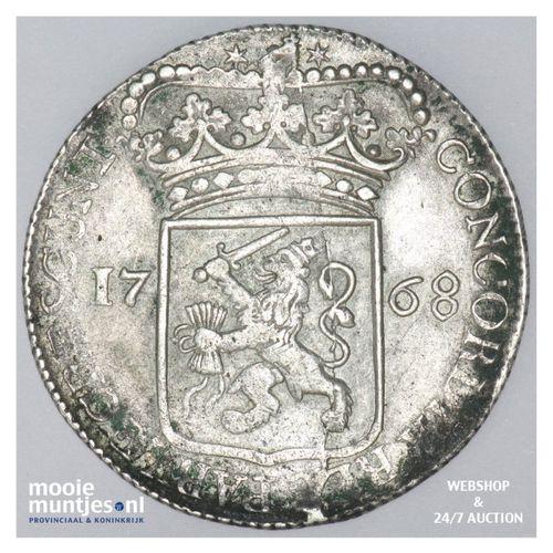 Zeeland - Zilveren dukaat - 1768 (kant A)