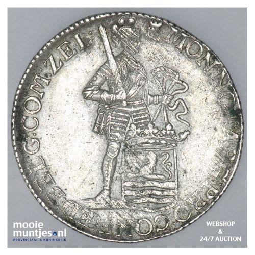 Zeeland - Zilveren dukaat - 1768 (kant B)