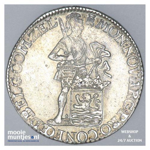 Zeeland - Zilveren dukaat - 1775 (kant B)