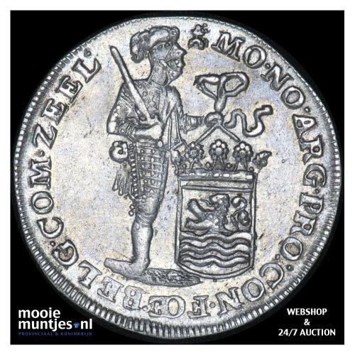 Zeeland - Zilveren dukaat - 1747 (kant B)