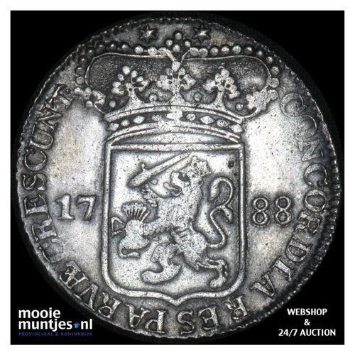 Zeeland - Zilveren dukaat - 1788 (kant A)