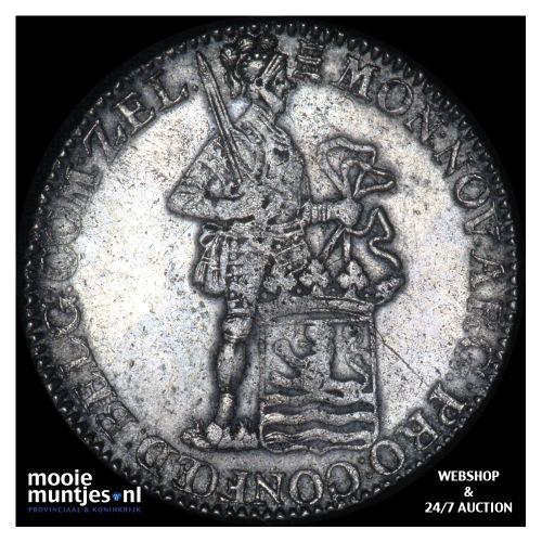 Zeeland - Zilveren dukaat - 1788 (kant B)