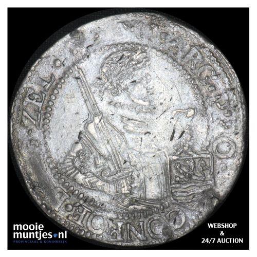 Zeeland - Nederlandse rijksdaalder - 1622 (kant B)
