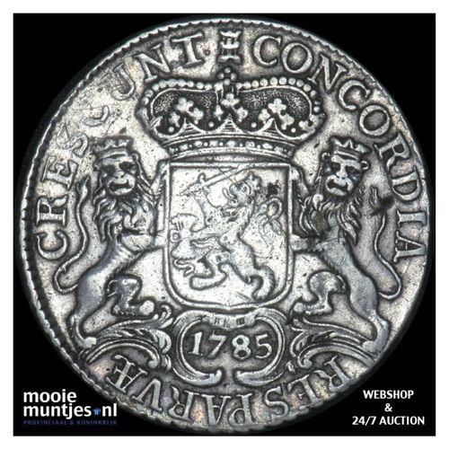 Zeeland - Zilveren rijder of dukaton - 1785 (kant A)