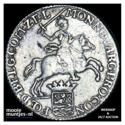 Zeeland - Zilveren rijder of dukaton - 1785 (kant B)
