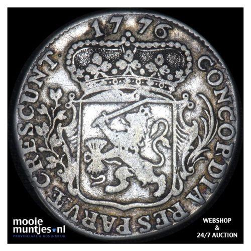Zeeland - Kwart dukaat  - 1776 (kant A)