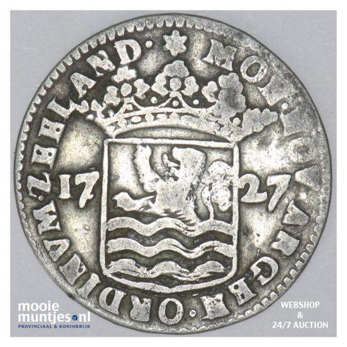 Zeeland - Hoedjesschelling - 1727 (kant A)