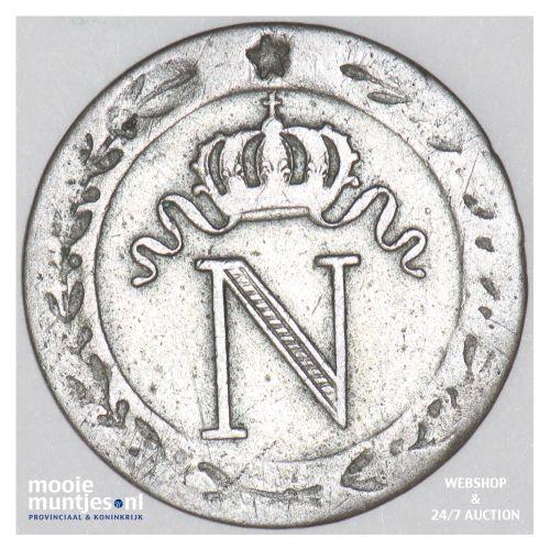 10 centimes - France 1808 W (Lille) (KM 676.9) (kant B)