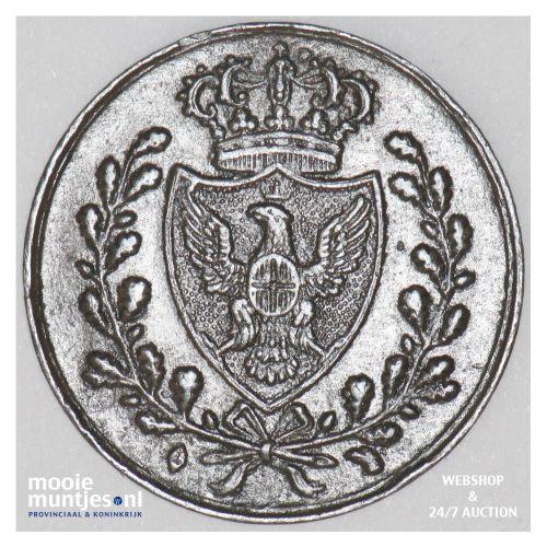 centesimo - mainland reform coinage - Italian States/Sardinia 1826 L (KM 125.1)
