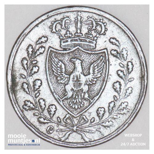 centesimo - mainland reform coinage - Italian States/Sardinia 1826 P (KM 125.1)