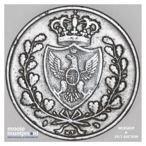 5 centesimi - Italian States/Emilia 1826 (KM 3) (kant B)