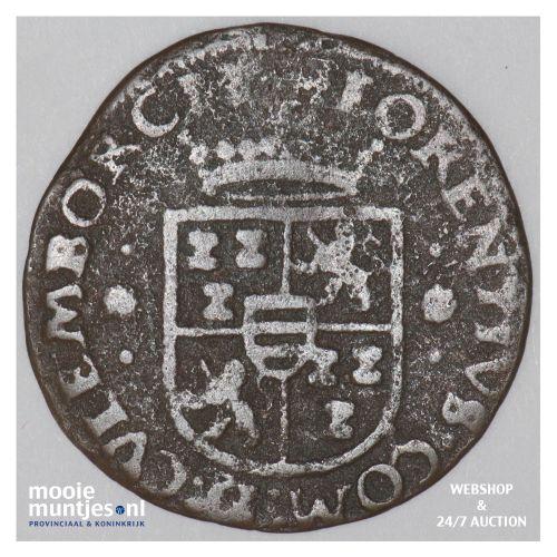 Culemborg - Duit of twee penningenstuk - 1590 (kant B)