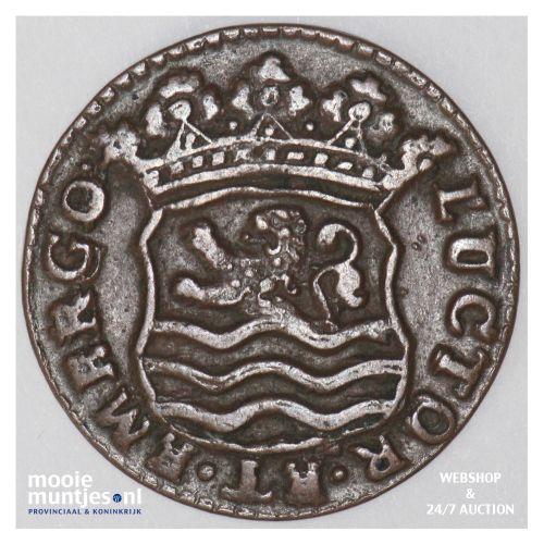 Zeeland - Duit - 1739 (kant B)
