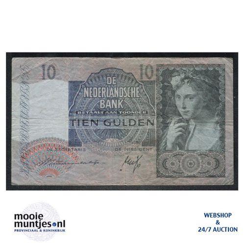 10 gulden  - 1940 (Mev. II 42-1 / AV 31) (kant A)