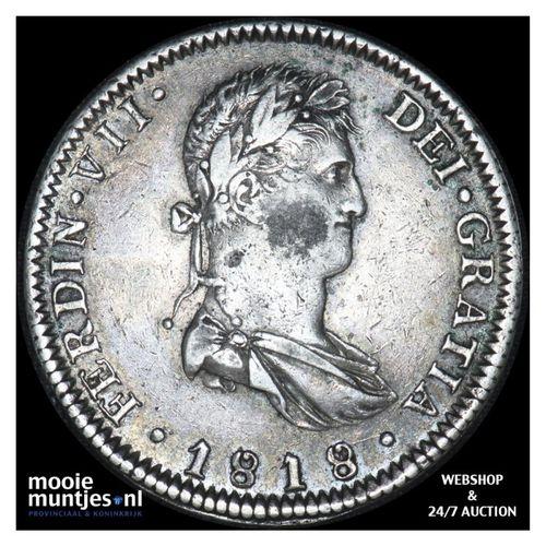 8 reales - Mexico/War of Independence-Guadalajara 1818 FS (KM 111.3) (kant A)