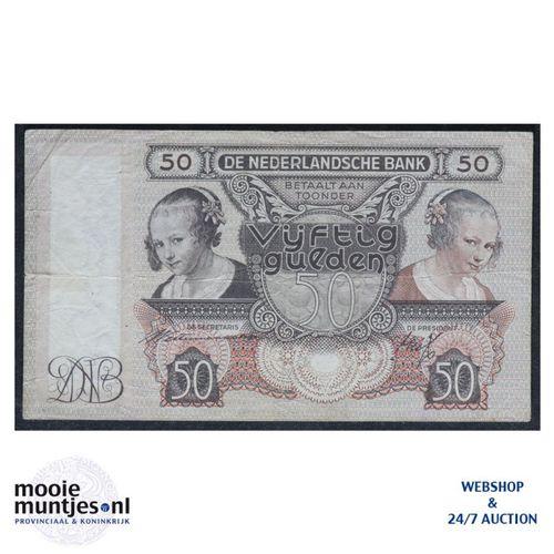 50 gulden - 1941 (Mev. 97-1 / AV 65) (kant A)