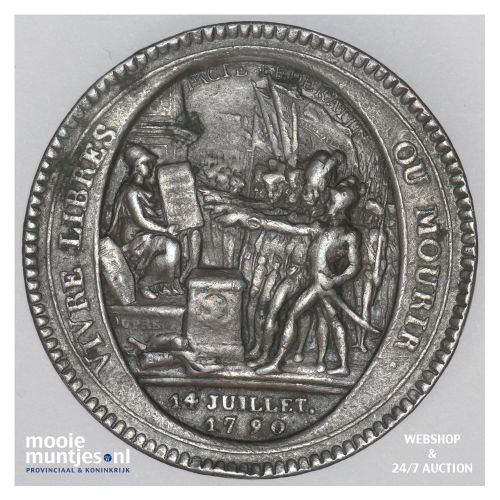 5 sols - France 1792 (KM Tn30) (kant B)