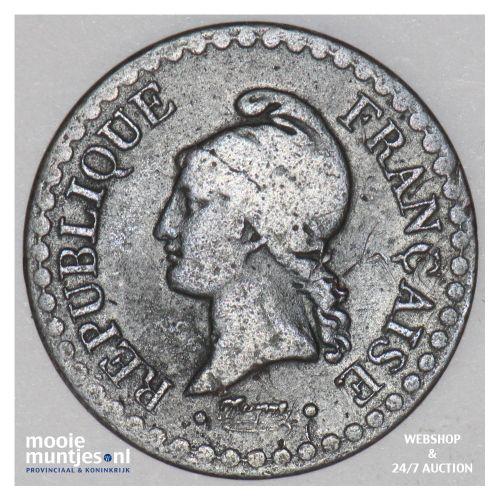 centime - France 1848 A (Paris) (KM 754) (kant B)