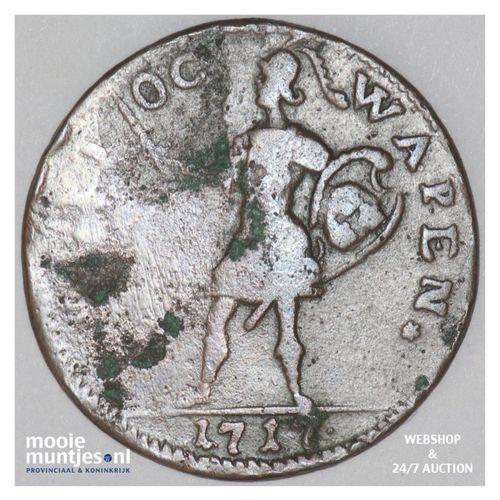 daler - emergency coinage - Sweden 1717 (KM 355) (kant A)