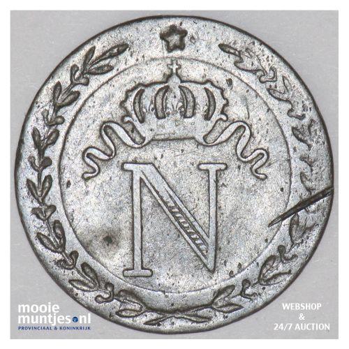 10 centimes - France 1809 A (Paris) (KM 676.1) (kant B)
