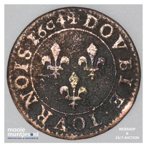 double tournois - France 1604 A (Paris) (KM 16.1) (kant A)