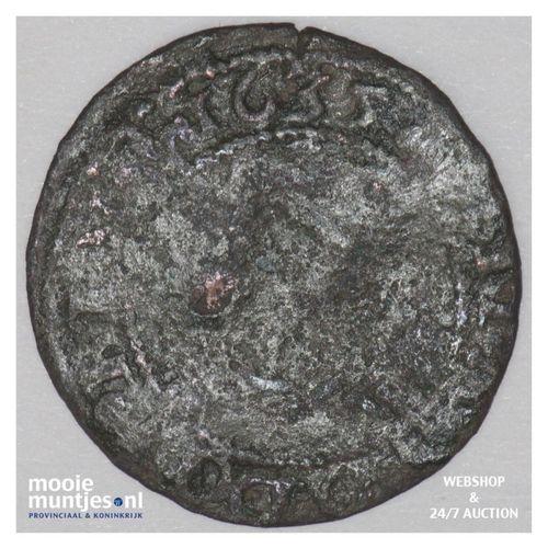 Stad Groningen - Kwart Brabantse stuiver van twee plak of oord - 1635 (kant A)