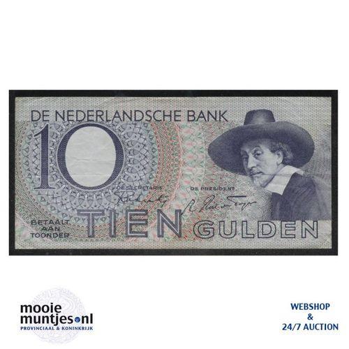 10 gulden  - 1943 (Mev. I 43-1 / AV 32) (kant A)