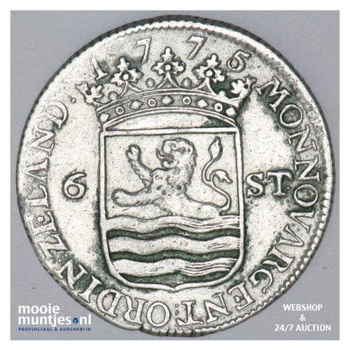 Zeeland - Scheepjesschelling - 1775 (kant A)