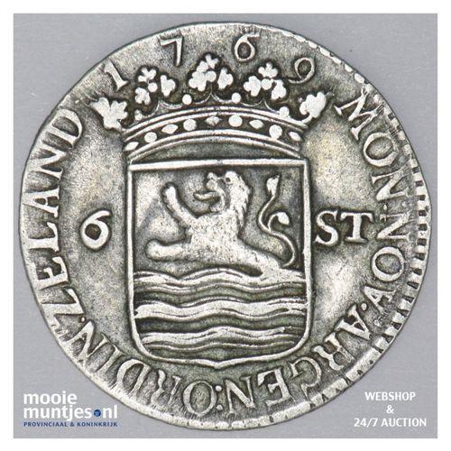 Zeeland - Scheepjesschelling - 1769 NOA MPO (kant A)