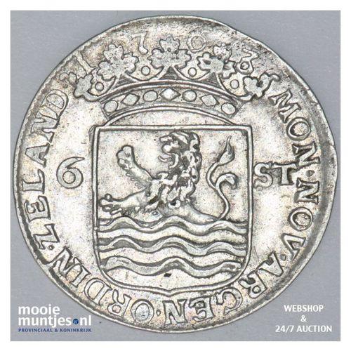 Zeeland - Scheepjesschelling - 1763 (kant A)