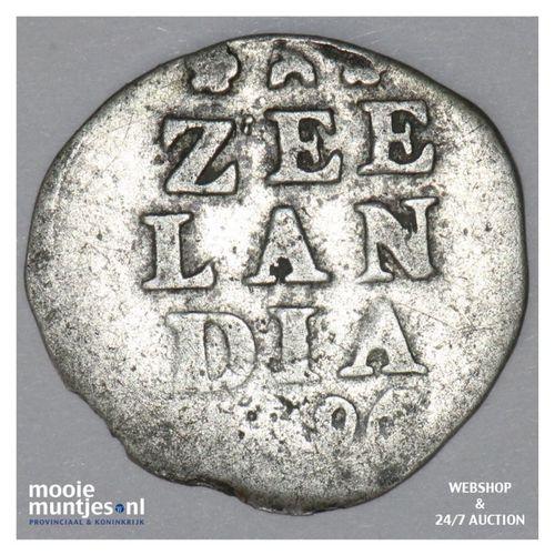 Zeeland - Dubbele wapenstuiver - 1696 (kant A)
