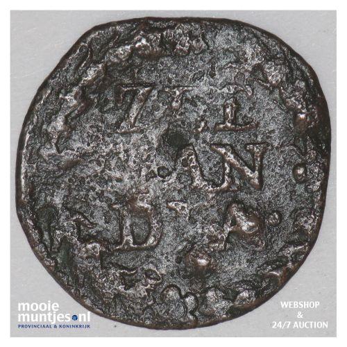 Zeeland - Duit - 1642 (kant B)