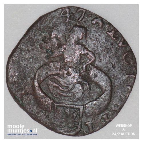 Zeeland - Duit - 1647 (kant A)