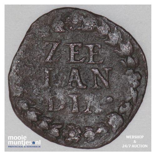 Zeeland - Duit - 1647 (kant B)
