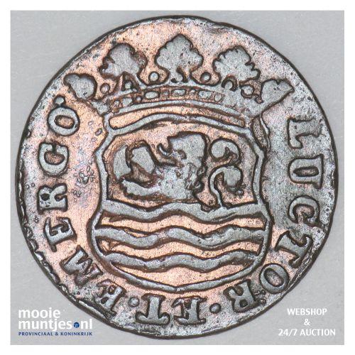 Zeeland - Duit - 1749 (kant B)