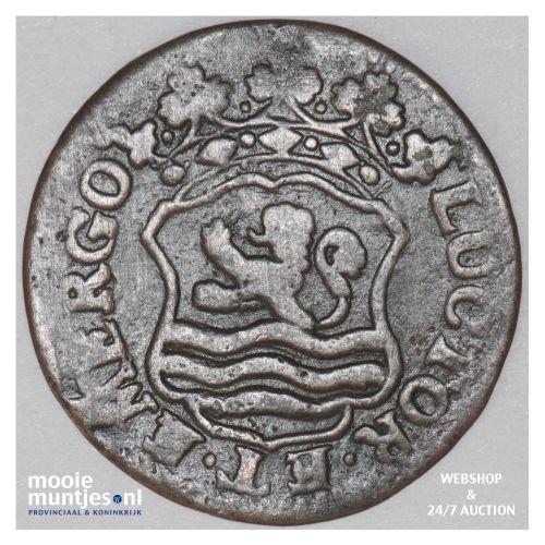 Zeeland - Duit - 1756 (kant B)
