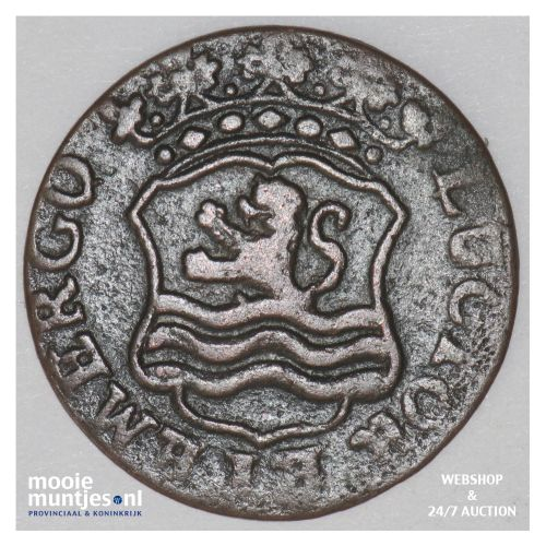 Zeeland - Duit - 1763 (kant B)