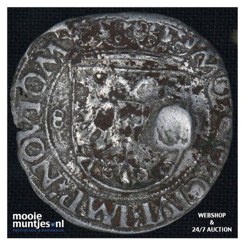 Nijmegen - Stuiver - 1581 (kant A)