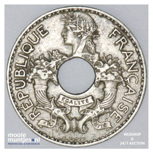 5 cents - French Indo-China 1939 (KM 18.1a) (kant B)