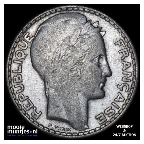 10 francs - France 1930 (KM 878) (kant B)