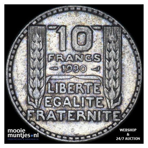 10 francs - France 1930 (KM 878) (kant A)