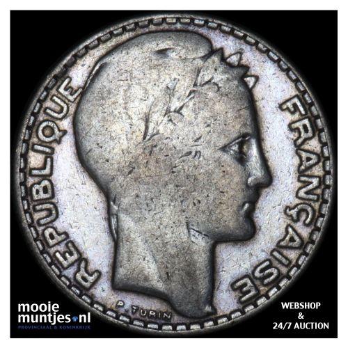 10 francs - France 1934 (KM 878) (kant B)