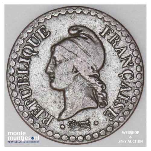 centime - France 1848 (KM 754) (kant B)