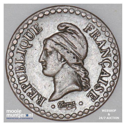 centime - France 1851 (KM 754) (kant B)
