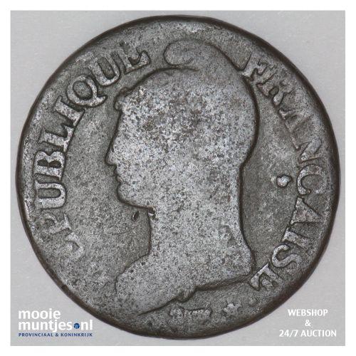 5 centimes - France LAN 8 W (Lille) (KM 640.11) (kant B)