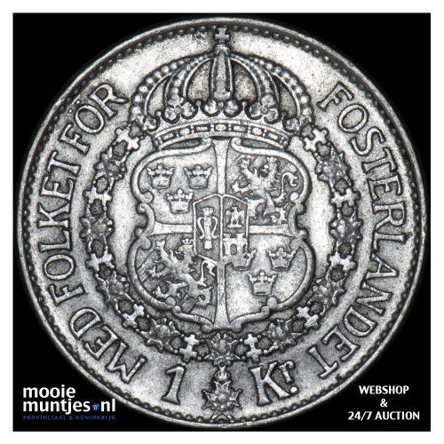 krona - Sweden 1939 (KM 786.2) (kant B)
