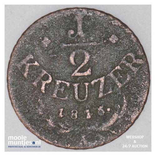 1/2 kreuzer - Austria 1816 A (KM 2110) (kant A)