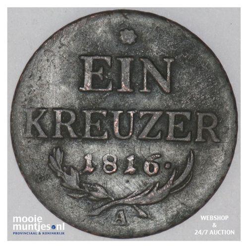 kreuzer - Austria 1816 A (KM 2113) (kant A)