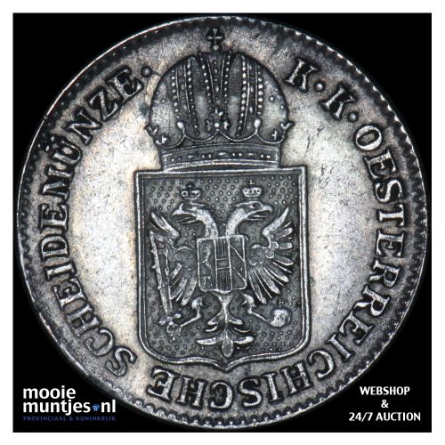 6 kreuzer - Austria 1849 A (KM 2200) (kant B)