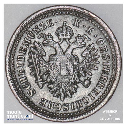 kreuzer - Austria 1851 A (KM 2185) (kant B)